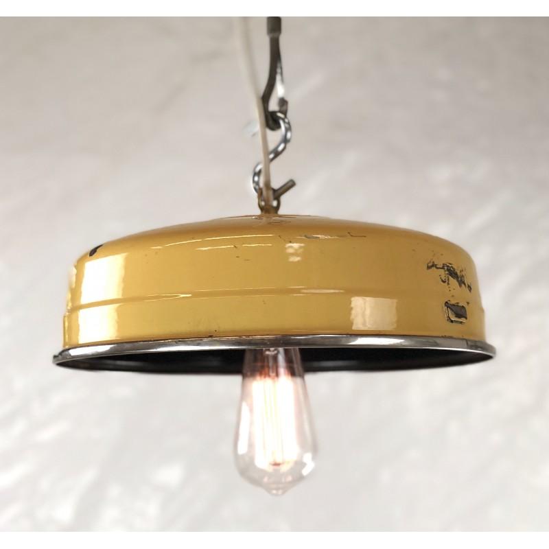 Vintage Enamel Light