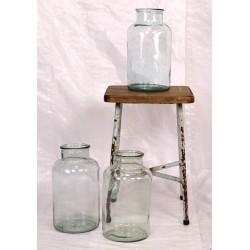 AC224 Vintage Glass Pickle Jar