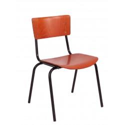 CHR51 German Red School Chair