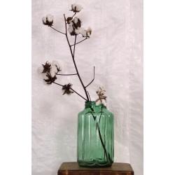AC255 Vintage Ribbed Glass Jar