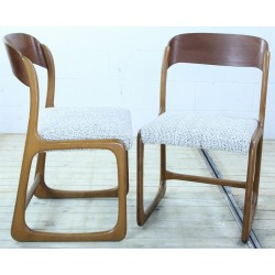 CHR170 Reupholstered French...