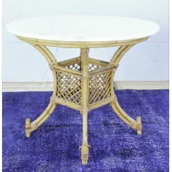 TB228 French Rattan Table
