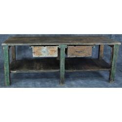 TB65 Rustic Wooden Workbench
