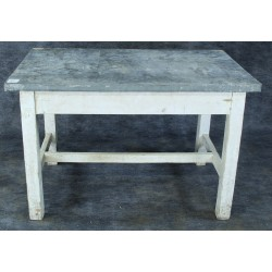 TB101 Small Zinc-Topped Table