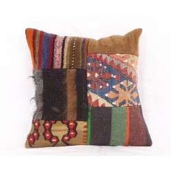 PL16 Patchwork Kilim Pillow